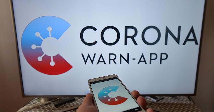Die Bundesregierung hat am 17.Juni die neue Corona-App vorgestellt. Foto: picture-alliance
