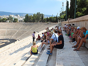 Das Lefobi Panathinaiko Stadion in Athen. Foto: DOA)