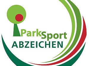 Das ParkSportAbzeichen ist ein einfacher Fitness-Test für Alt und Jung. Logo: HSB