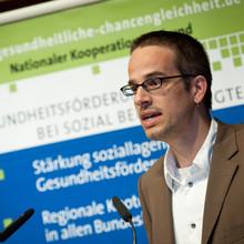 """""""Sport und Bewegung sind aus unserer Sicht überragend wichtig"""", sagt Stefan Bräunling, Leiter der Geschäftsstelle des Kooperationsverbundes """"Gesundheitliche Chancengleichheit"""". (Foto: Bräunling)"""