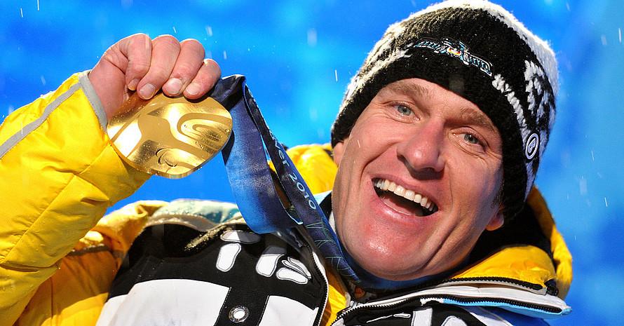 Martin Braxenthaler gewinnt bei den Paralympics in Vancouver Gold. Foto: picture-alliance