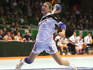 Die Handball-Nationalspielerin Nadine Krause unterstützt den Wettbewerb. Copyright: picture-alliance