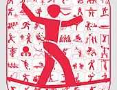Es gibt Piktogramme zu über 200 Sportarten. Copyright: DOSB/Sportdeutschland