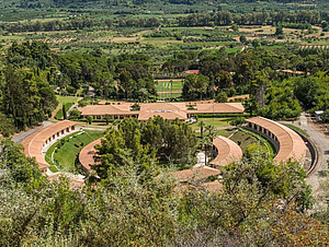 Die Internationale Olympische Akademie in Olympia. Foto: DOA