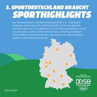 Wahlhearing 2017 Sporthighlightst Nr.3