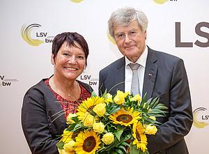 Elvira Menzer-Haasis löst Dietmar Schmidt-Volkmar an der Spitze des LSV Baden-Württemberg ab. Foto: LSV Baden-Württemberg