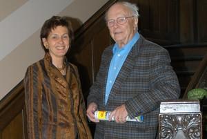 Willi Klein und die amtierende Präsidentin des Landessportbundes Rheinland-Pfalz, Foto: LSBRLP