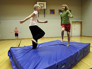 """""""Schulsport bewegt alle"""". Copyright: picture-alliance"""