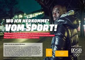 Sportdeutschland-Motiv Individualisierungsbeispiel