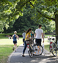 Sport im Freien tut gut. Foto: LSB NRW