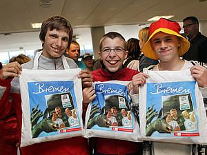 Teilnehmer der Special Olympics National Games 2010 in Bremen. Foto: SOD