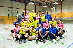 """""""Sport als Mittel der Integration und sozialen Eingliederung von Flüchtlingen"""" ist eines der Projekte, das von der EU unterstützt wird."""