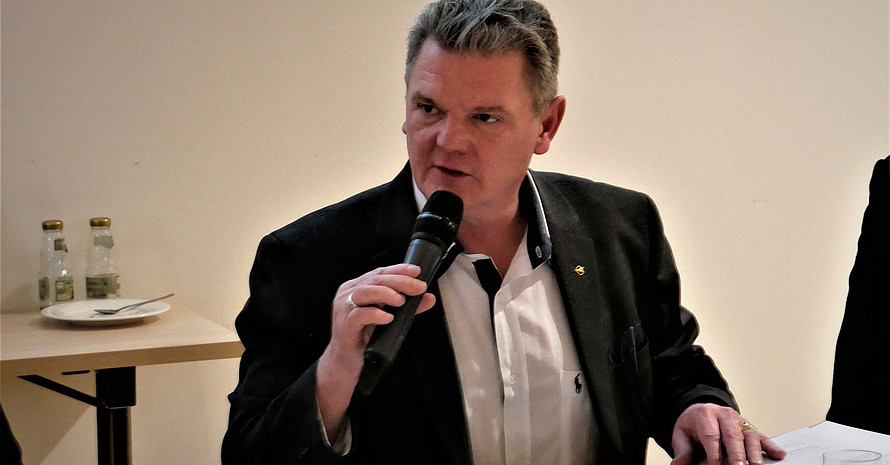 Stefan Klett wurde von der ordentlichen Mitgliederversammlung im Amt bestätigt. Foto: DAeC