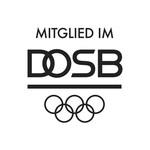 "Schwarzes DOSB-Logo ""Mitglied im"""
