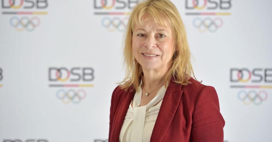 Petra Tzschoppe ist eine von vier Frauen im DOSB-Präsidium. Foto: DOSB/Frank May