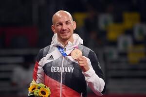 Frank Stäbler holte sich in seinem letzten Wettkampf auf internationaler Bühne noch einmal Bronze. Foto: picture-alliance
