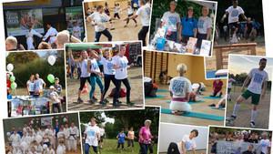 Aktionen des Vereinswettbewerbs 2018 Fotos: DOSB