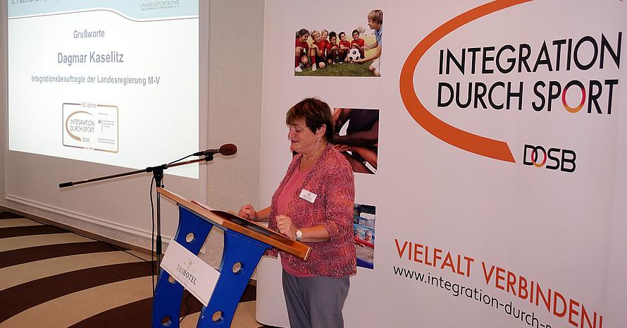 Landesintegrationsbeauftagte M-V Dagmar Kaselitz