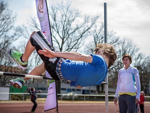 Gemeinsam fit bleiben: Die Sportabzeichen-Tour in Fürstenwalde will am 11. Juni für generationenübergreifenden Sport werben. (Foto: Meike Engels)