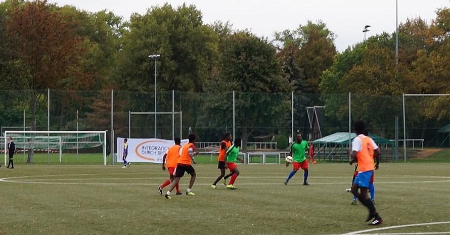 Foto: Integration durch Sport