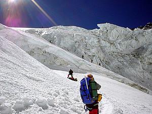 Auch viele deutsche Alpinisten befinden sich zur Zeit auf einer Himalaya-Expedition. Copyright: picture-alliance/dpa