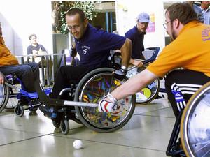 Viele Sportvereine haben Angebote für Menschen mit und ohne Behinderung zum gemeinamen Sporttreiben. Copyright: picture-alliance