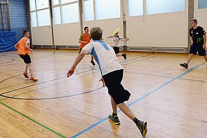 Abstand halten ist beim Frisbee kein Problem. Foto: LSB NRW
