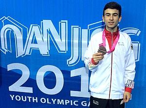 Daniel Chiovetta gewann Bronze im Taekwondo.