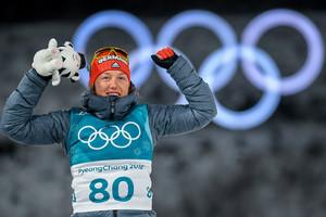 Dritte Medaille: Laura Dahlmeier gewinnt als erste eine olympische Medaille im Sprint, in der Verfolgung und im Einzel (Fotos: Picture Alliances)
