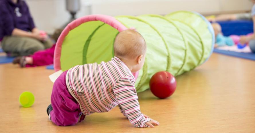 Bereits die ganz Kleinen haben Spaß im Sportverein. Foto: LSB NRW