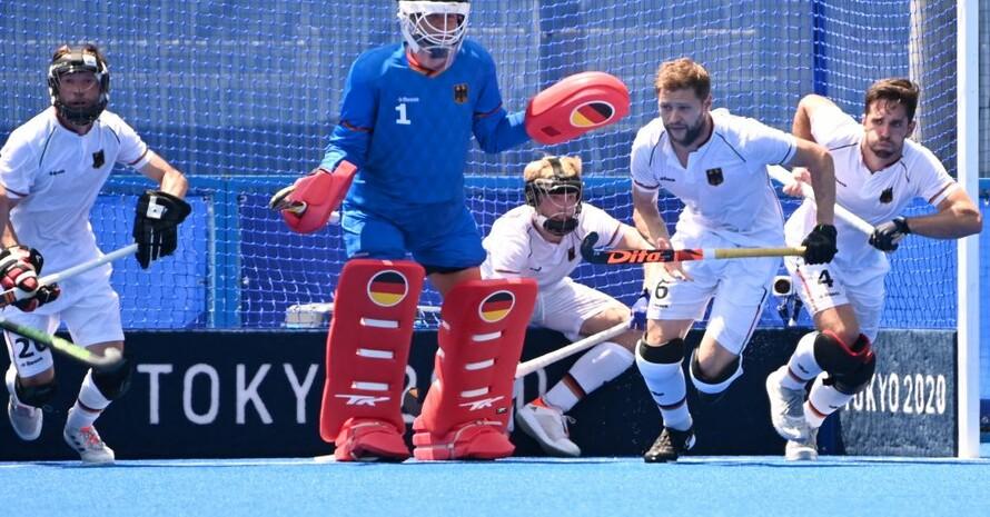 Die Hockey-Männer stehen im olympischen Halbfinale. Foto: picture-alliance