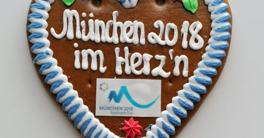Die SOD-Delegation unterstützt die Bewerbungsgesellschaft München 2018.