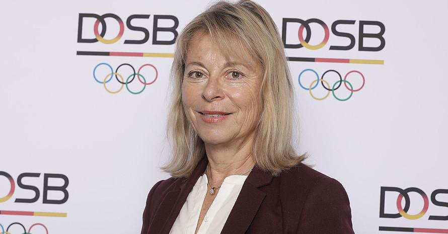 Petra Tzschoppe findet, dass Führungsetagen die Vielfältigkeit des Sports abbilden sollten. Foto: DOSB/Jörg Carstensen