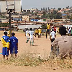 Volleyball beim Jumelage Cup © DOSB/Martha Duttlinger