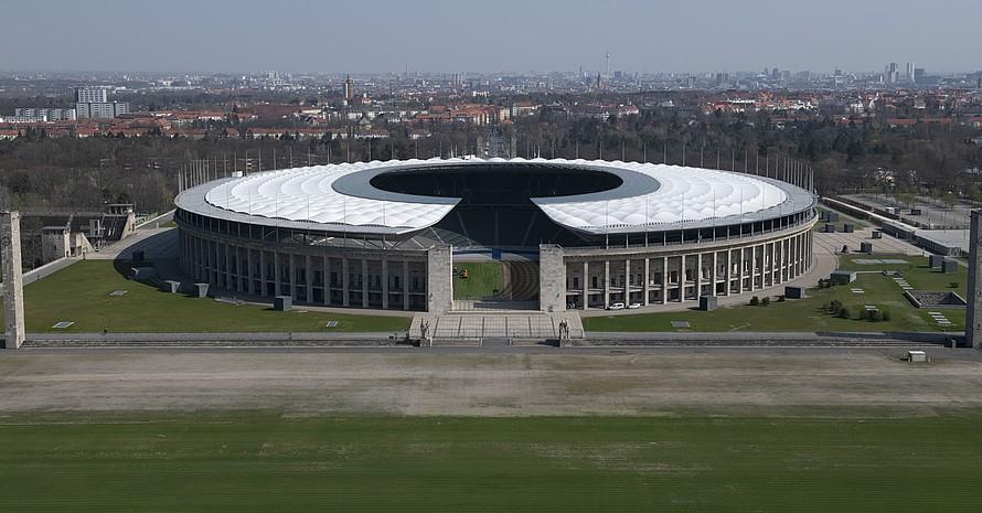 """Der Olympiastadion in Berlin ist die zentrale Wettkampfstätte der """"Finals - Berlin 2019"""" am 3. und 4. August. Foto: picture-alliance"""