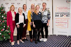 v.l.n.r. Dr. Petra Tzschoppe, Kloty Schmöller, Katharina von Kodolitsch, Sybille Hampel, Juliane Bötel, Silke Renk