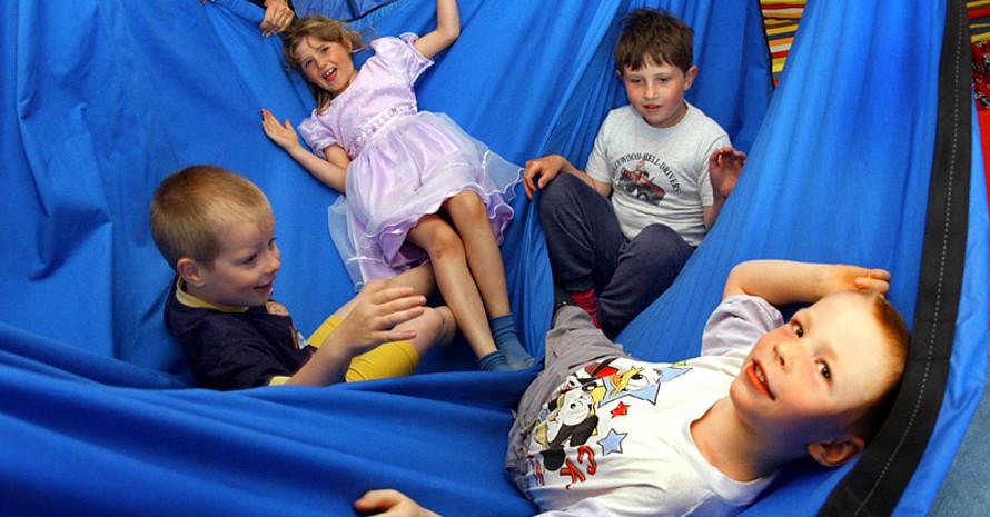 """""""Kinderwelt ist Bewegungswelt"""" lautet eines der Schwerpunktthemen beim Hauptausschuss der Deutschen Sportjugend am 26. April in Frankfurt am Main. Copyright: picture-alliance"""