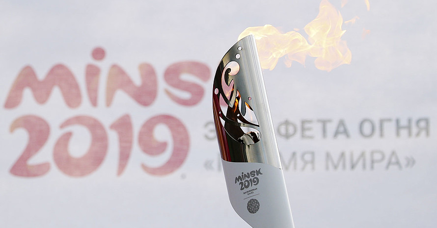 Die zweiten European Games finden im weißrussischen Minsk statt. Foto: picture-alliance
