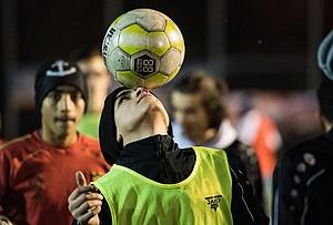 """""""Förderung sportlicher Betätigung und körperlicher Aktivität von Flüchtlingen"""" ist ein Kriterium für die Teilnahme an der EU-Ausschreibung. Foto: picture-alliance"""