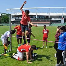 """Das """"Gemeinschaftserlebnis Sport"""" bietet seit 1995 Sport für alle an, ohne Kosten, ohne Mitgliedschaft (Foto: GES)"""