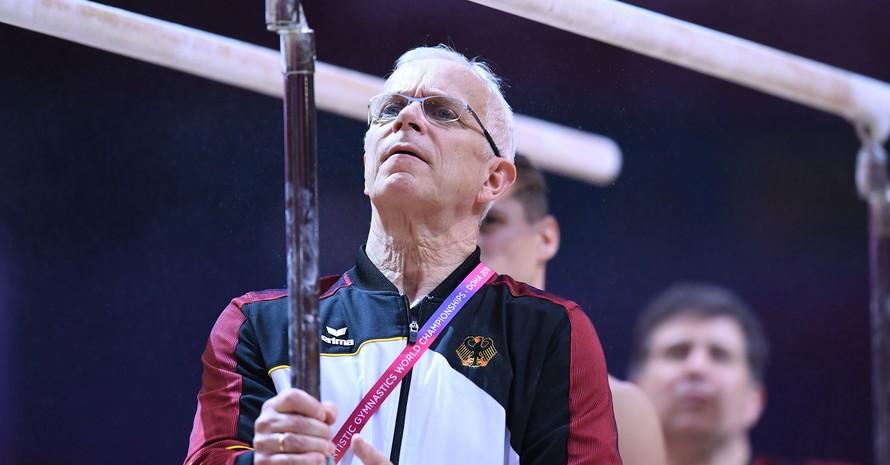 Andreas Hirsch ist seit 18 Jahren Cheftrainer der deutschen Kunstturner. Foto: picture-alliance