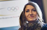 """""""Eliteschülerin des Sports 2011"""" Gesa Krause, hat die Olympischen Spiele in London fest im Blick.; copyright: picture-alliance/rumpenhorst"""