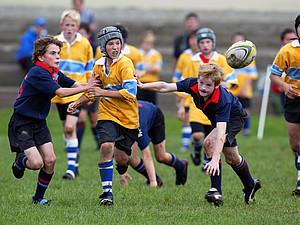 Das Rugby-Sommercamp findet in Heidelberg statt. Copyright: picture-alliance