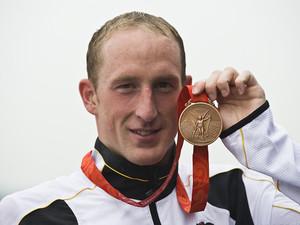Thomas Lurz ist Freiwasser-Schwimmer des Jahres 2011. Foto: picture-alliance
