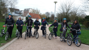 Die neuen Radfahrerinnen