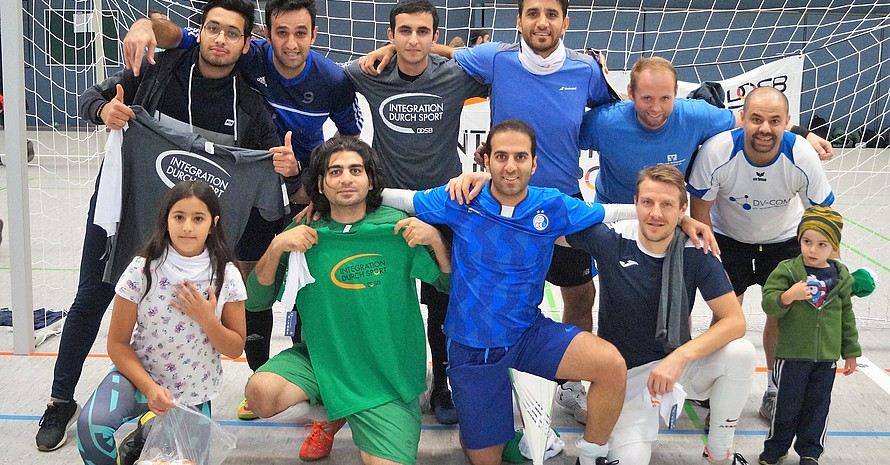 Die Fairplay-Sieger Fellows (Foto: Integration durch Sport)