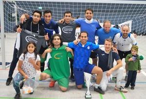 Die Fairplay-Sieger Fellows (Foto: Integration durch Sport)