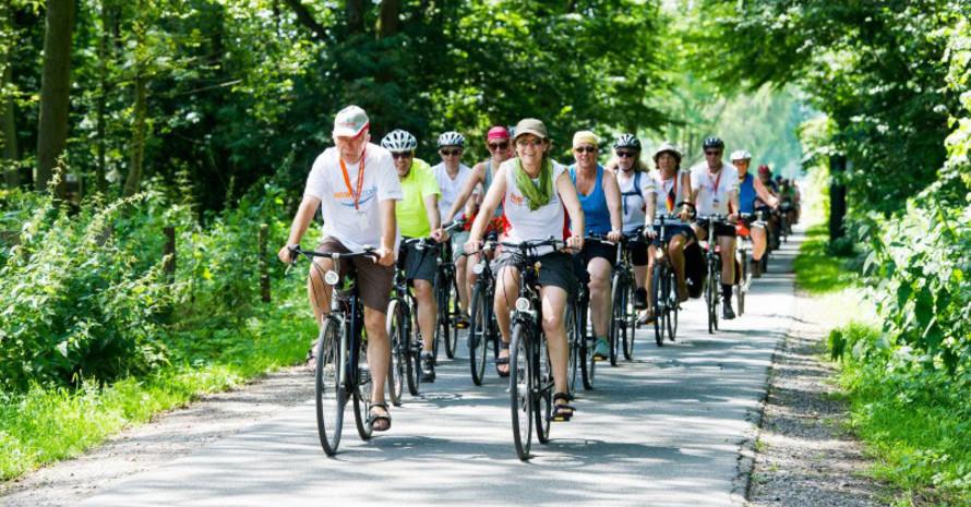 Radfahren ist für Arthrose-Patienten die effektivste Sportart. Foto: LSB NRW