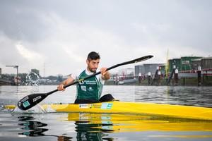 Der aus dem Iran stammende Saeid Fazloula trainiert in Karlsruhe für den Start bei den Olympischen Spielen in Tokio. Foto: picture-alliance