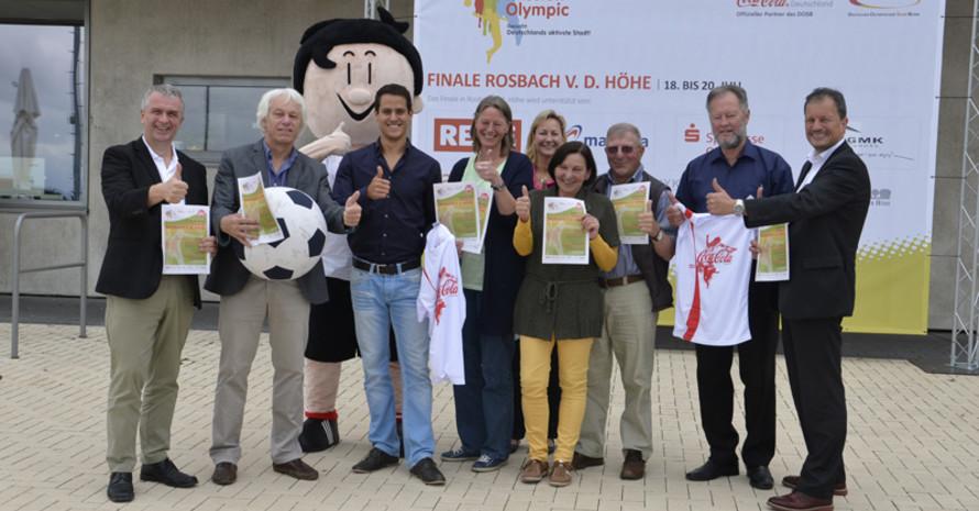 Trimmy mit dem Team Mission Olympic der Stadt Rosbach v.d.Höhe. Foto: Mission Olympic